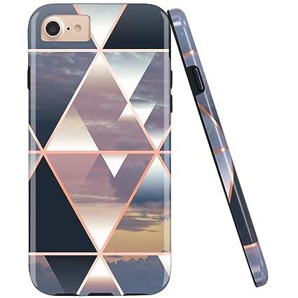 Amazon.com: JIAXIUFEN - Carcasa de silicona para iPhone 7 ...