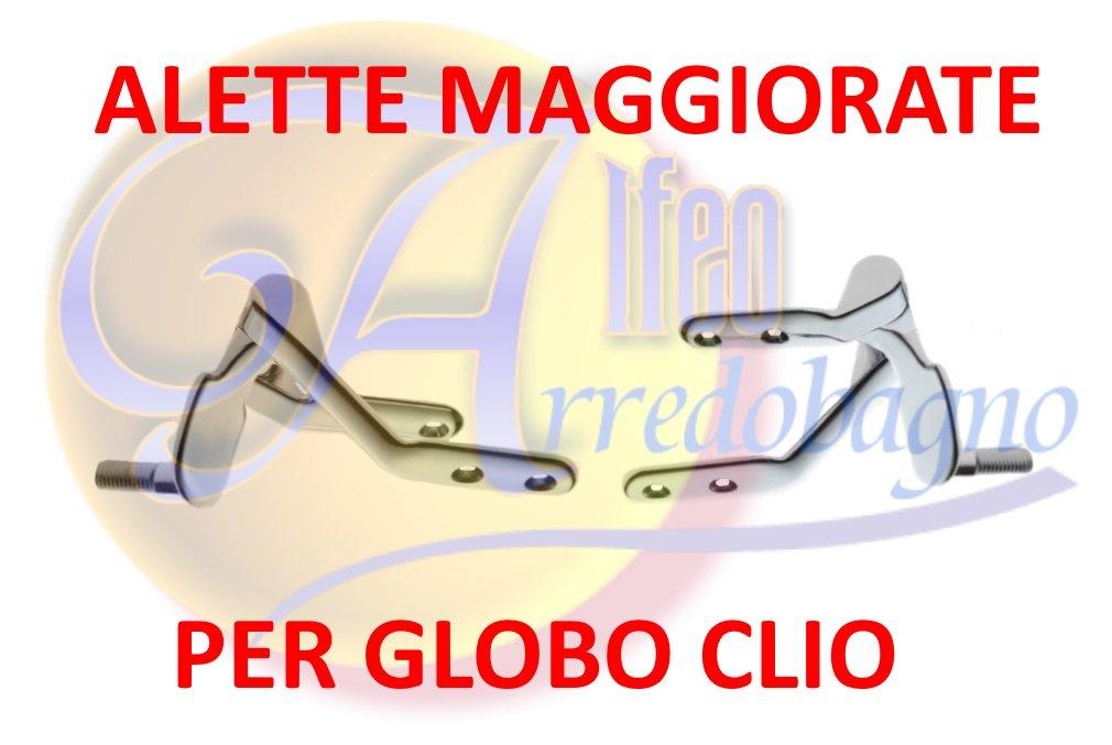 coppia Cerniere coprivaso CLIO copri water wc GLOBO fissaggio orizzontale