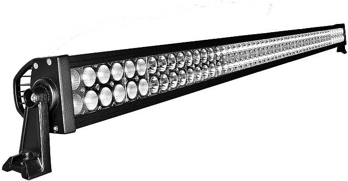 Kit 50 inch 288W Cree LED Light Bar Off-road Marine Waterproof Truck 4WD 4x4