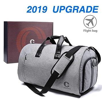 Crospack 22 inch Garment Bag Crospack Suit Travel Bag with Shoulder Strap 2  in 1 Hanging aa99527d85e93