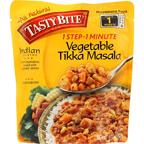 Tasty Bite Entree - Indian Cuisine - Vegetable Tikka Masala - 10 oz - case of 6 -