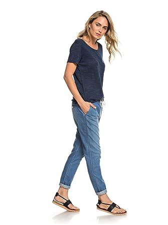 81352f6e750 Roxy - Short Vaquero de Playa - Mujer - XS - Azul