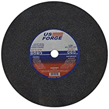 US Forge 799 Cut Off Wheel 14-Inch by 1/8-Inch 1-Inch Arbor