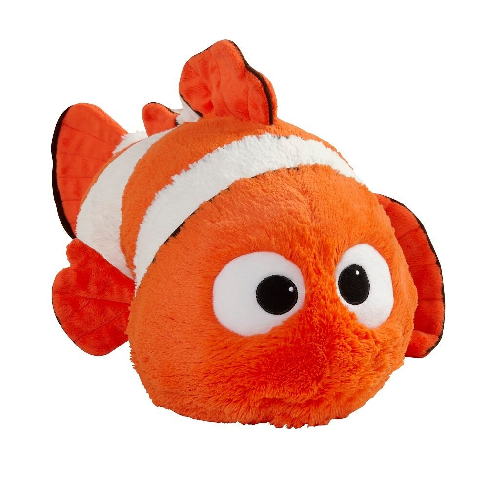 Amazon.com: Pillow Pets Disney Finding Dory Nemo Stuffed Animal ...