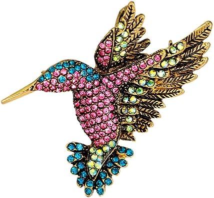 KTENME Broche Oiseau Volant, Jolie Broche Animale à Bouche