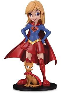 b4d4f7fbdf DC Collectibles Artists Alley: Supergirl by Chrissie Zullo Designer Vinyl  Figure, Multicolor