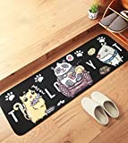 PRAGOO Cartoon Animal Mat Dog Cat Rug Porch Bath Doormat Bedroom Living Room Floor Carpet Anti-slip
