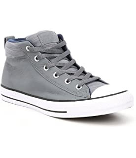 c61aa118bb1e Converse Men s Street Tonal Canvas High Top Sneaker