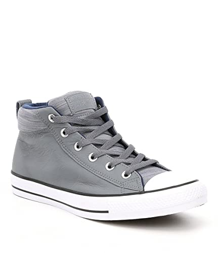 d13388a3c5ff Converse Chuck Taylor All Star Street Mid Adult Unisex Cool Grey Midnight  Navy (7.5