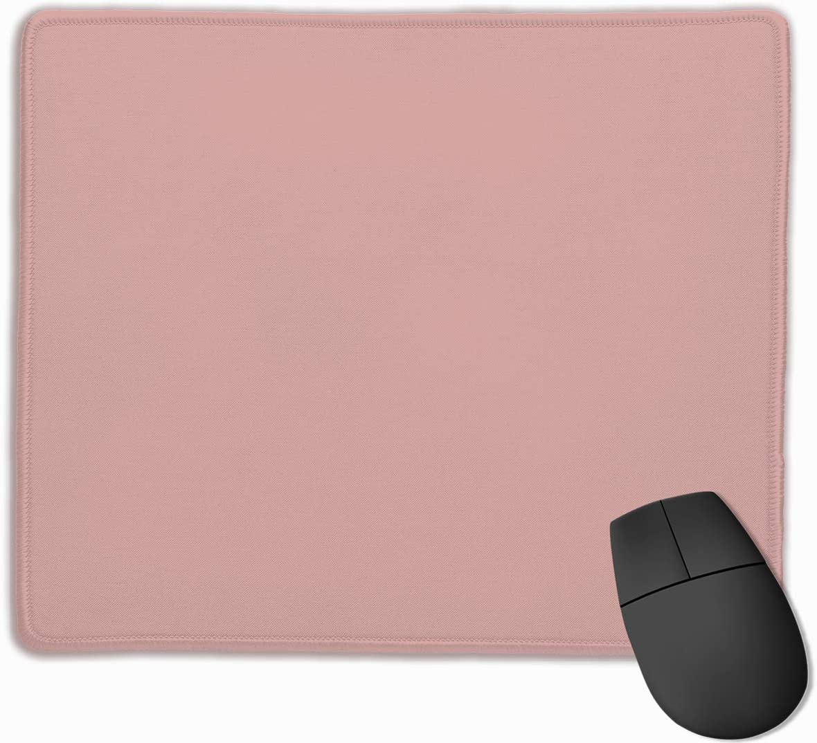 Rose Blush DAA Non-Slip Rubber Mouse Mat Mouse Pad for Desktops PC and Laptops 9.8 X 11.8 inch Computer