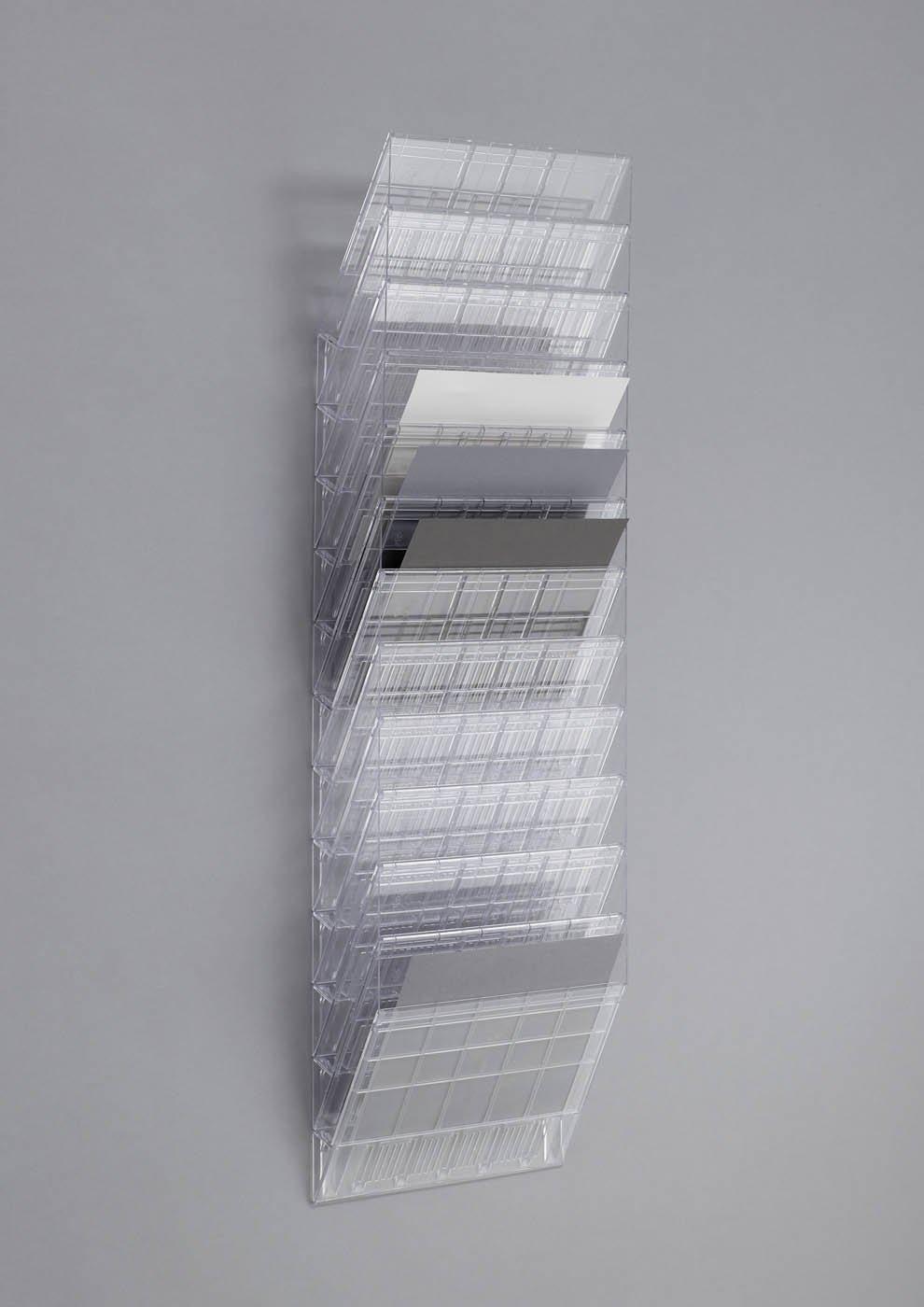 Flexiboxx 6 A4 Durable 1709760400 Prospektspenderset 1 Set transparent