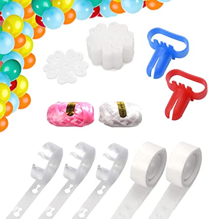 Amazon.com: Kit de tiras para decoración de globos de 48.0 ...