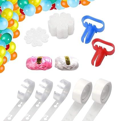 Amazon.com: Kit de tiras para decoración de globos de 48.0 ...