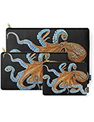 Society6 Octopus Carry-All Pouch