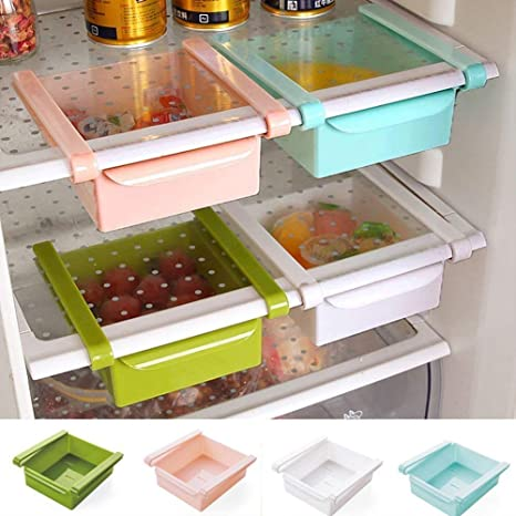 Generic Plastic Multi Purpose Fridge Storage Racks for your Extra Meals