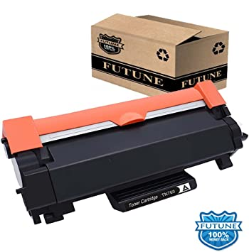 1 pk TN760-NoChip Toner Cartridge for Brother HL-L2390DW HL-L2395DW Printer