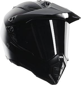 AGV AX-8 Dual Sport Evo Helmet (Matte Carbon, Large)
