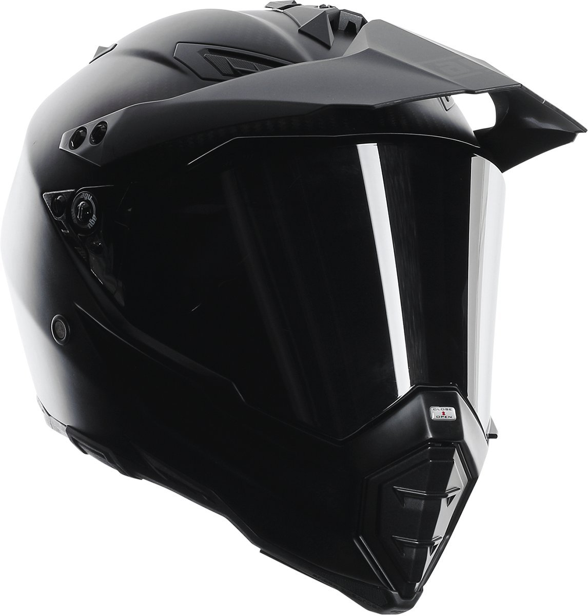 AGV AX-8 Dual Sport Evo Helmet (Matte Carbon, XXX-Large)