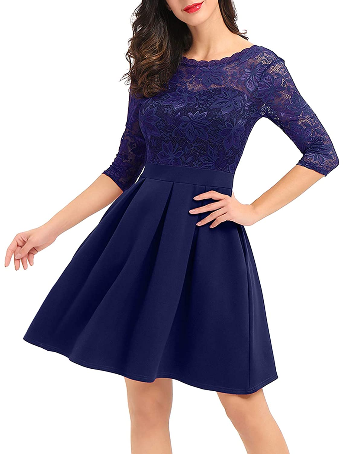 c56fa68428d A Line Cocktail Dresses With Sleeves - Gomes Weine AG