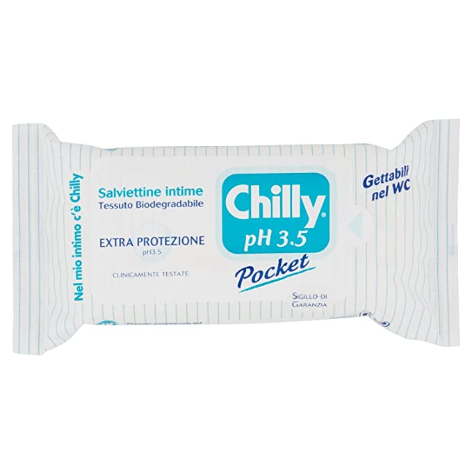 1 opinioni per Chilly Salviettine, pH 3.5-12 Pezzi