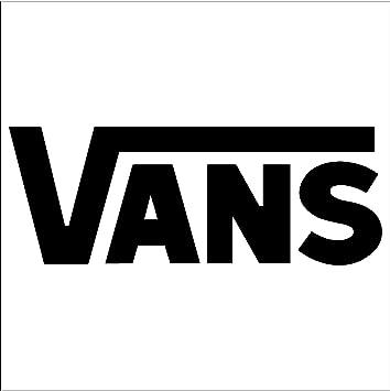 aa3e6f1bb9628 Image Unavailable. Vans Logo - Vinyl Sticker ...