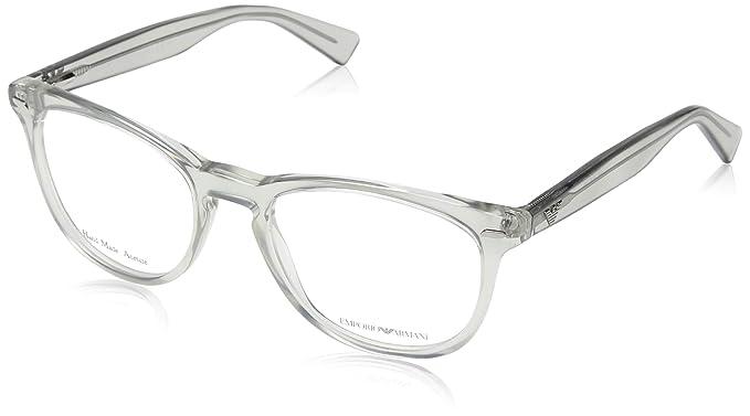 Emporio Armani 4004_50488G (56 mm) Gafas de Sol, Gris, 56 ...