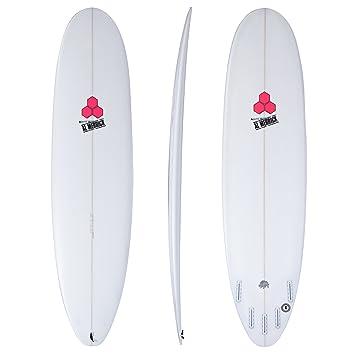 Channel Islands Water Hog Futures - Tabla de Surf de 5 Aletas, Color Blanco