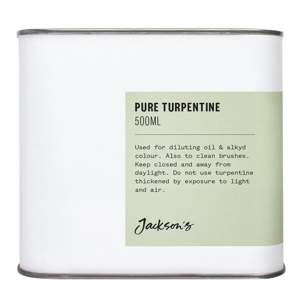 Jackson's : Pure Turpentine 500ml : By Road Parcel Only Jackson's
