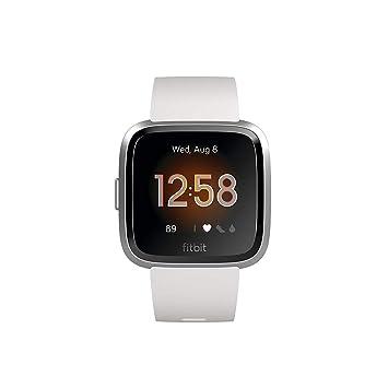 697ec2166 Fitbit Versa Lite - Reloj Deportivo Smartwatch, Adultos Unisex,  Blanco/Plata Aluminio, Talla única: Fitbit: Amazon.es: Deportes y aire libre