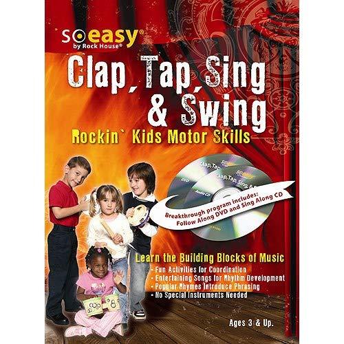 John McCarthy: Clap Tap Sing & Swing. CD, DVD (Région 0), Partitions pour - Pour Percussion