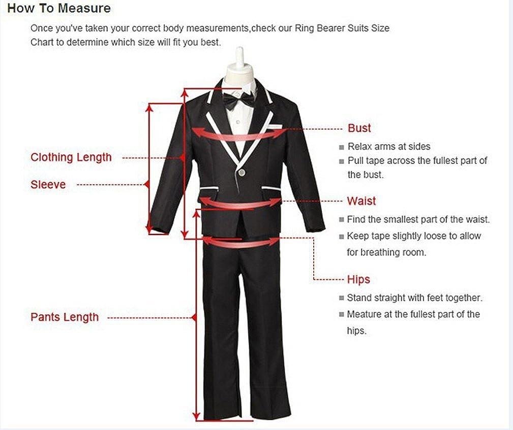 HBDesign Boys 3 Piece 2 Button Notch Lapel Slim Trim Fit Casual Suite Beige HBS 8 Beige