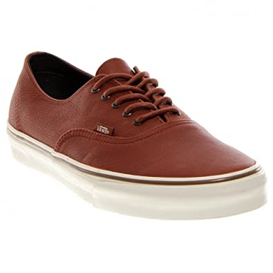 6cee3567cf Vans Authentic Decon CA Sneaker nature leather brown sugar 44