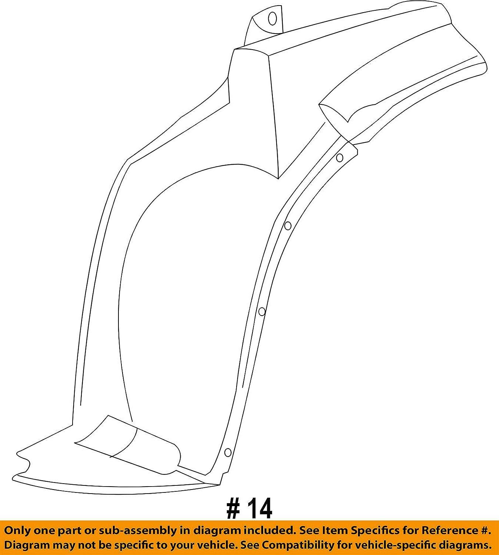 GM 22816705 LINER ASM-FRT W//H FRT