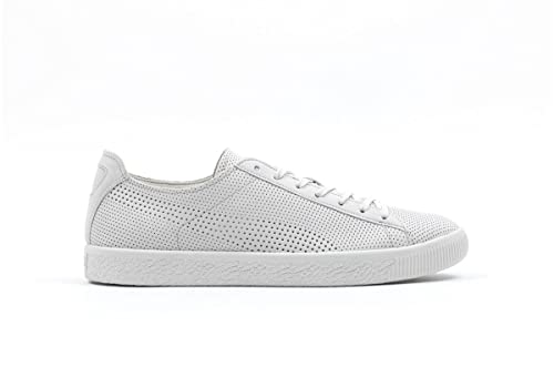 Puma x Stampd Clyde in Whisper White by Puma, 9: Amazon.co