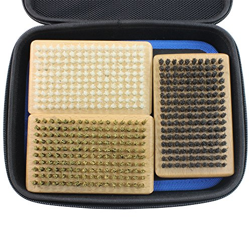 XCMAN Oxford 1680D Ski and Snowboard Waxing And Tuning Kit with Wax Brush Bag For Traveling and Storage (Bag with Tuning Tools)