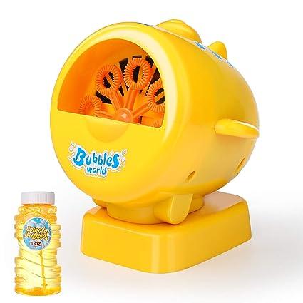 Amazon.com: Máquina de burbujas WisToyz 2019, soplador de ...