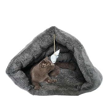 WYXIN Cueva para mascotas Pet Bed Cave para gatos / perros y de tamaño pequeño a