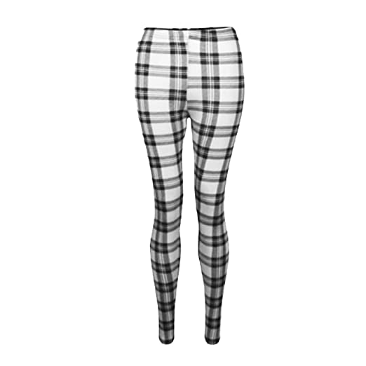 f4181ed36c1feb Amazon.com: a2z4kids Girls Leggings Kids Tartan Check Print Trendy Fashion  Legging Age 7-13 Years: Clothing