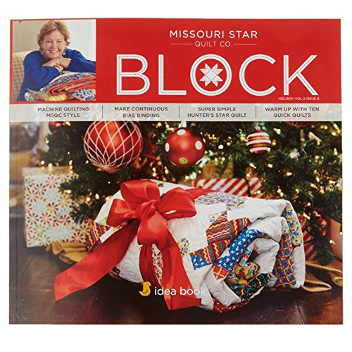 Quilting Idea Book: BLOCK Holiday 2016 Vol 2 Issue 6 (Quilt Patterns Block Star Christmas)