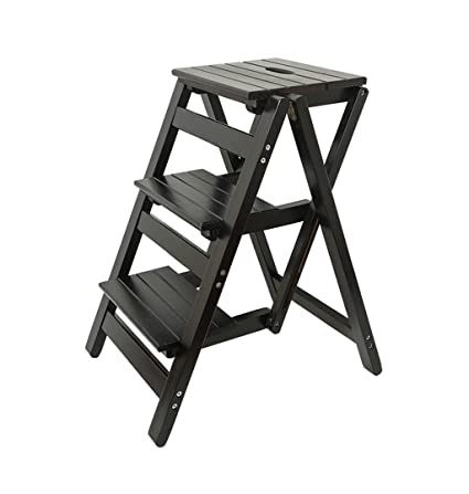 Superb Folding Steps Solid Wood Ladder Stool Folding Fold Up Andrewgaddart Wooden Chair Designs For Living Room Andrewgaddartcom