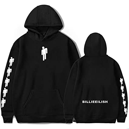 Pap Cell Billie Eilish Hoodie Hoodies For Women Men Girl Boys Cute Idontwannabeyouanymore 13 Reasons Hooded T Shirt by Pap Cell