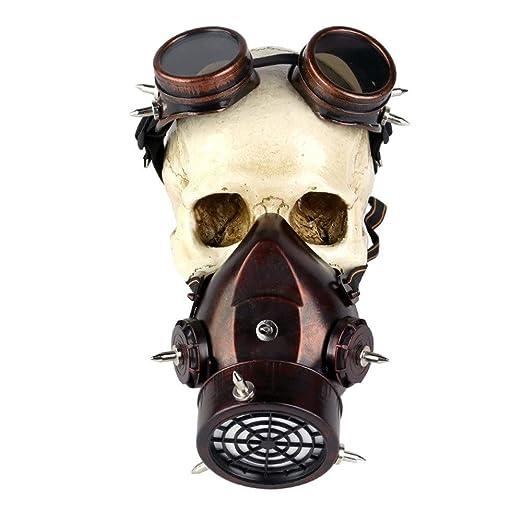 Ouzhoub Traje de Mujer Steampunk, Máscara de la Mascarada de la ...
