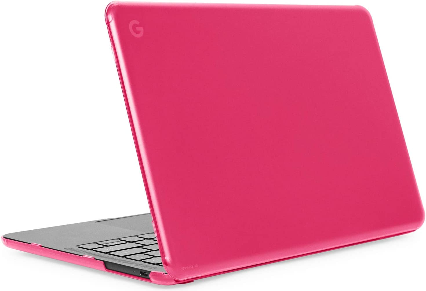 "mCover Hard Shell Case for Late-2019 13.3"" Google Pixelbook Go Chromebook Laptop Computers (NOT Compatible Older Model Released Before 2019) laptops (PixelbookGo Pink)"