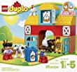 LEGO DUPLO My First Farm 10617, Preschool, Pre-Kindergarten Large Building Block Toys for Toddlers by DUPLO