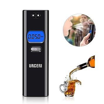 Amazon Com Breathalyzer Alcohol Tester Portable Digital Breath