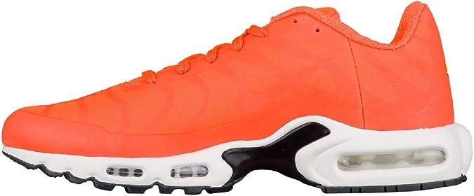 026a1d0e584d21 NIKE Air Max Plus TN Tuned 1 One Big Logo Sneaker Laufschuhe RARITÄT orange  weiß schwarz bunt AJ7181-800  Amazon.de  Schuhe   Handtaschen