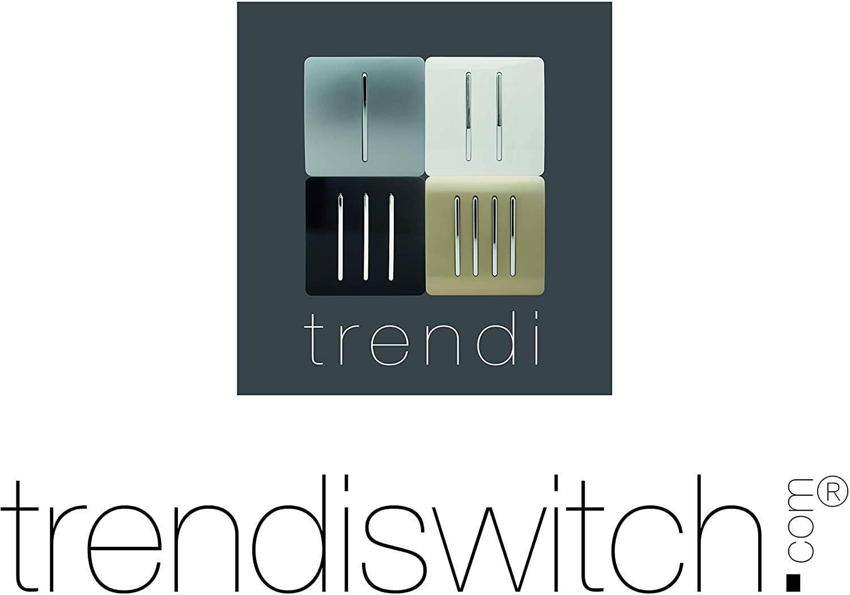Presa tattile moderna con interruttore lucido Oro colore Trendi Switch ART-SKT13GO Trendi