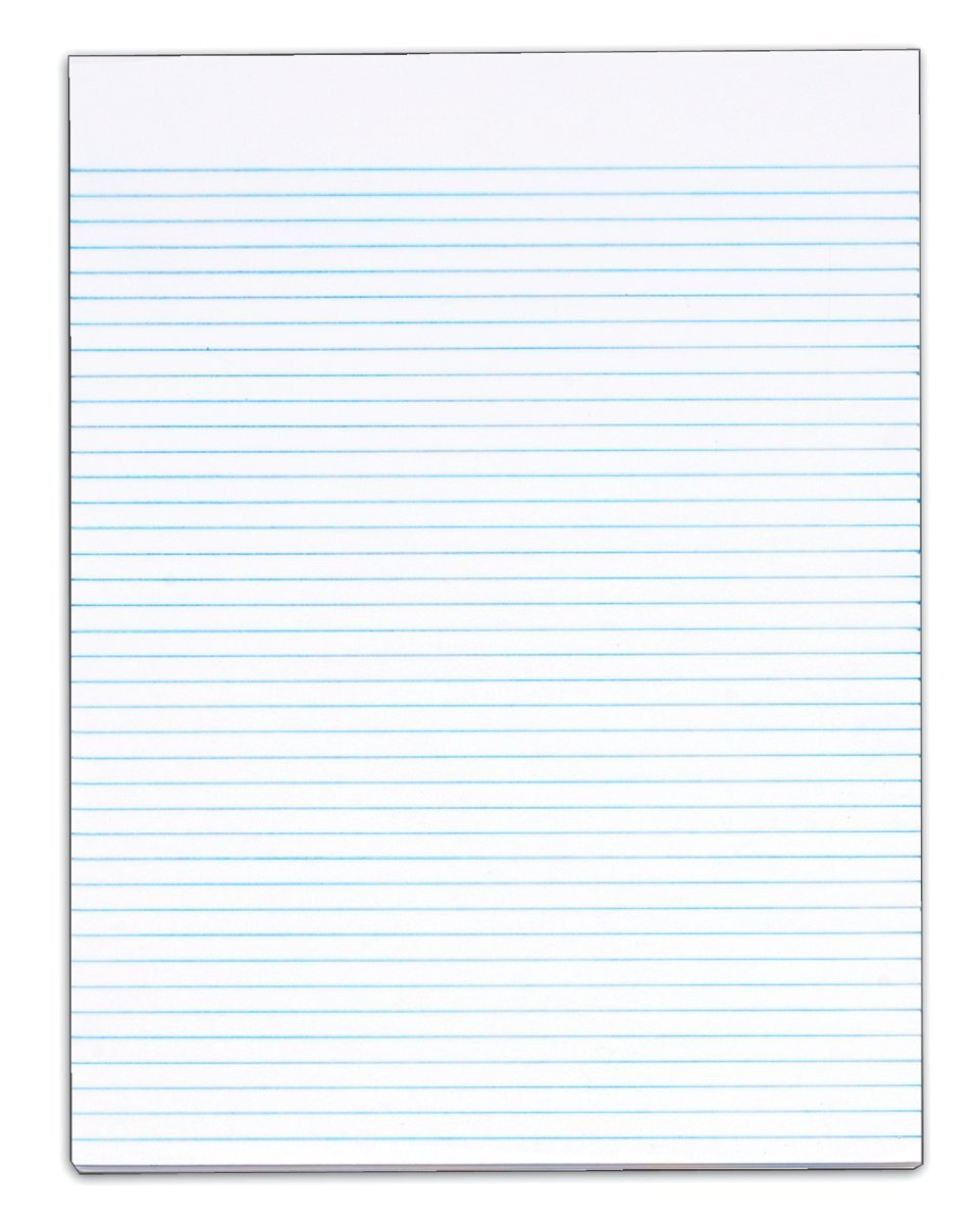 Amazon TOPS The Legal Pad Legal Pad 812 x 11 Inches Gum – Lined Pages for Writing