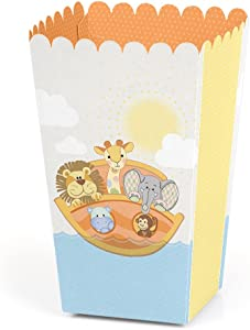 Noah's Ark - Baby Shower or Birthday Favor Popcorn Treat Boxes - Set of 12