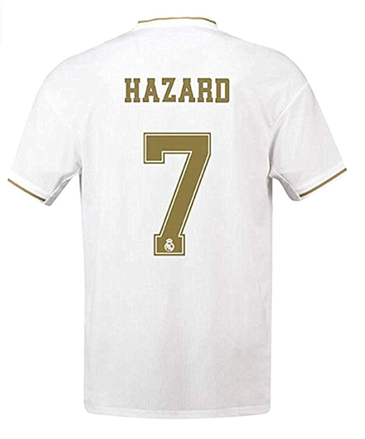 check out 101a4 76a4b Mens Hazard Jersey Real Madrid # 7 Soccer Jersey 2019-2020 Home White  Jersey & Shorts